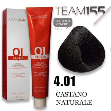 Team 155 tintura 100 ml n° 4.01