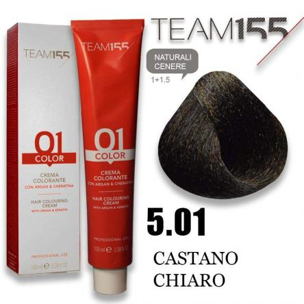 Team 155 tintura 100 ml n° 5.01