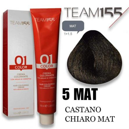 Team 155 tintura 100 ml n° 5 mat