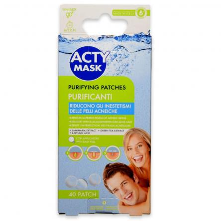 Acty mask patch line-30 patches per pelli con tendenza acneica