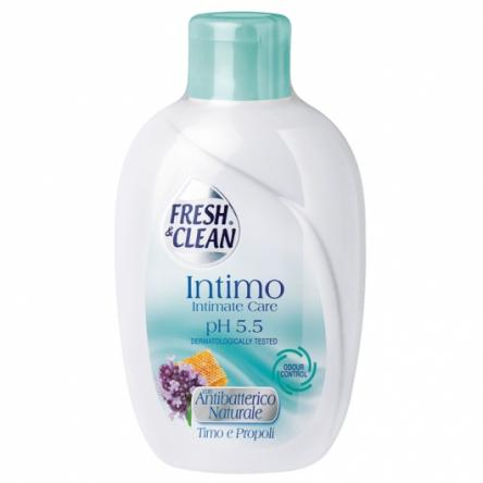 Fresh & clean intimo anti-batterico naturale timo