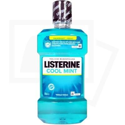 Listerine colluttorio 600 ml coolmint