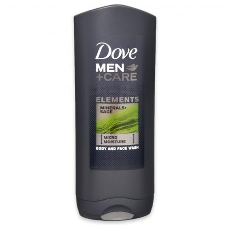 Dove  men + care bagnodoccia 400 ml mineral & sage