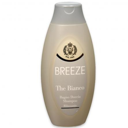 Breeze bagnoschiuma 400 ml the bianco