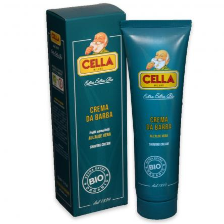 Cella milano crema da barba bio tubo 150 ml
