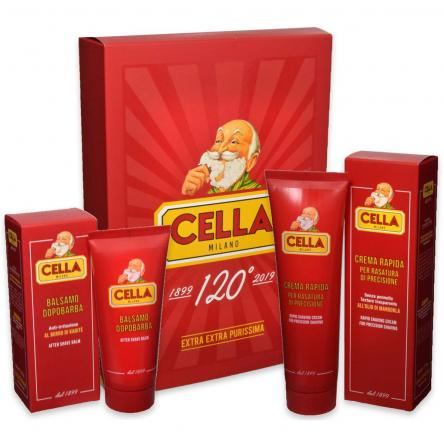 Cella milano crema rapida per rasatura 150 ml + bls dopo barba 100 ml