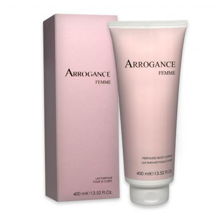 Arrogance femme body lotion 400 ml