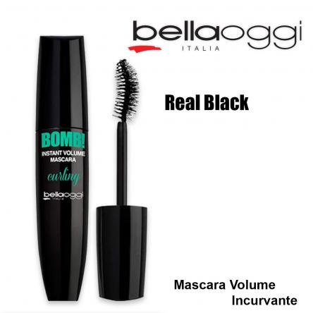 Bomb!curling mascara volume incurvante real black