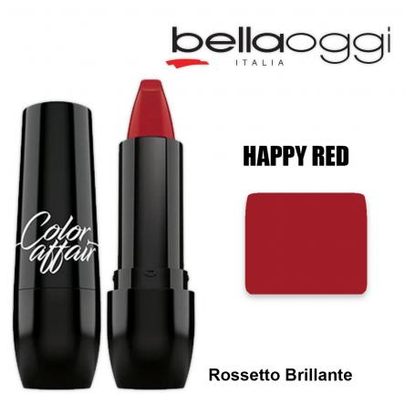 Color affaire rossetto brillante happy red