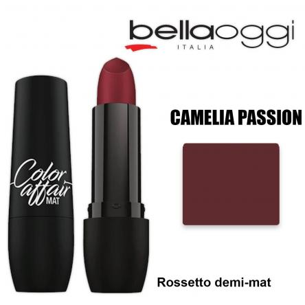Color affaire mat rossetto demi-mat camelia passion