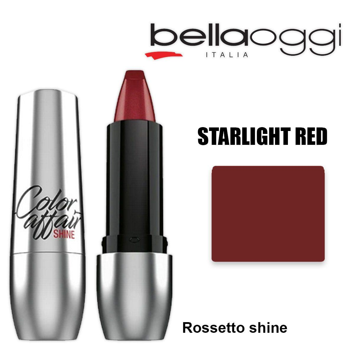 Color affaire shine rossetto shine starlight red