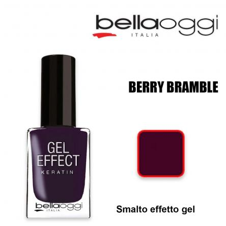 Gel effect keratin smalto effeto gel con cheratina berry bramble