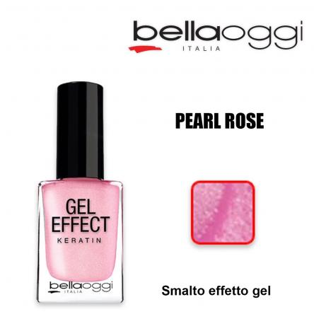 Gel effect keratin smalto effeto gel con cheratina pearl rose