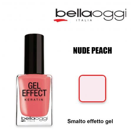 Gel effect keratin smalto effeto gel con cheratina nude peach