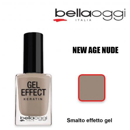 Gel effect keratin smalto effeto gel con cheratina new age nude