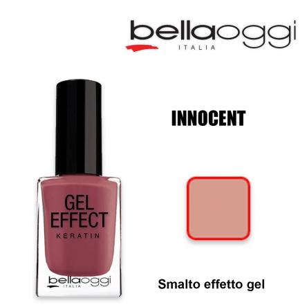 Gel effect keratin smalto effeto gel con cheratina innocent