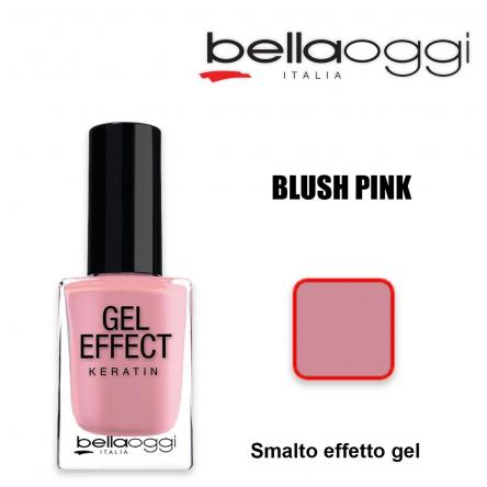 Gel effect keratin smalto effeto gel con cheratina blush pink