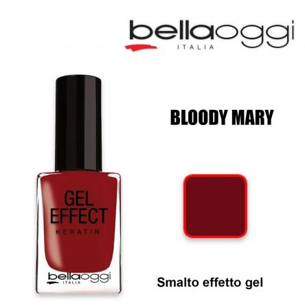 Gel effect keratin smalto effeto gel con cheratina bloody mary