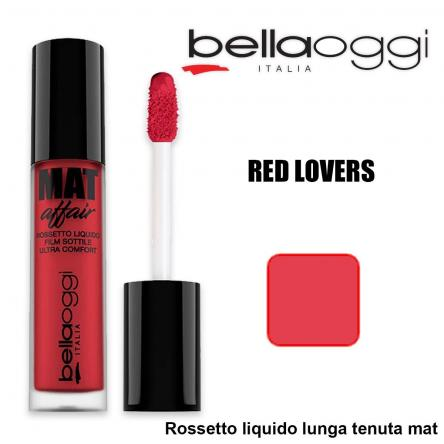 Mat affair rossetto liquido lunga tenuta red lovers