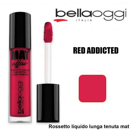 Mat affair rossetto liquido lunga tenuta red addicted