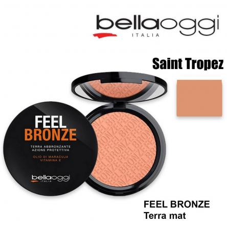Feel bronze terra mat saint tropez