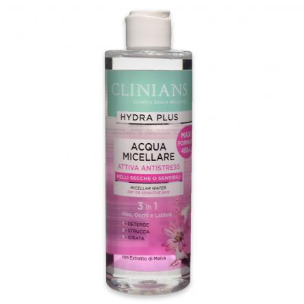 Clinians acqua micellare antistress 400 ml