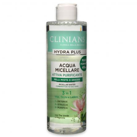Clinians acqua micellare purificante 400 ml