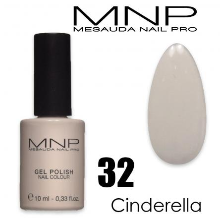 Mesauda 10 ml gel polish 032 cinderella