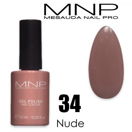 Mesauda 10 ml gel polish 034 nude
