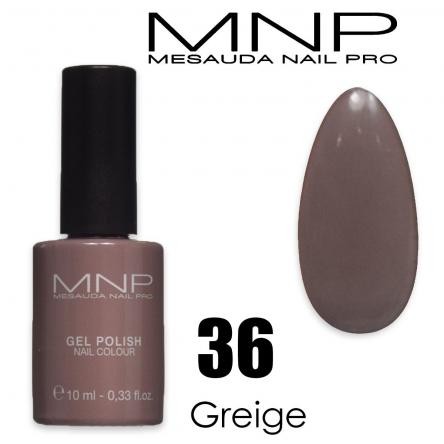 Mesauda 10 ml gel polish 036 greige