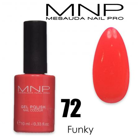 Mesauda 10 ml gel polish 072 funky