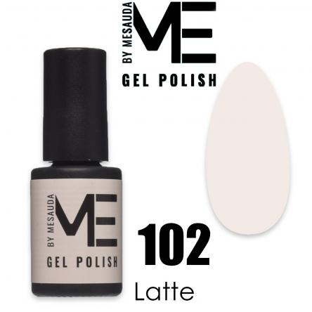 Mesauda me 5 ml gel polish 102 latte