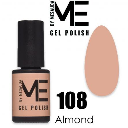 Mesauda me 5 ml gel polish 108 almond