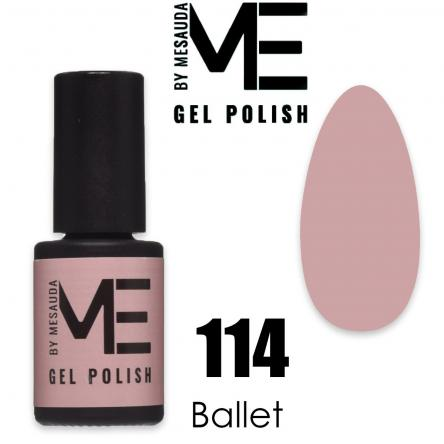 Mesauda me 5 ml gel polish 114 ballet