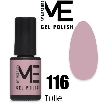 Mesauda me 5 ml gel polish 116 tulle