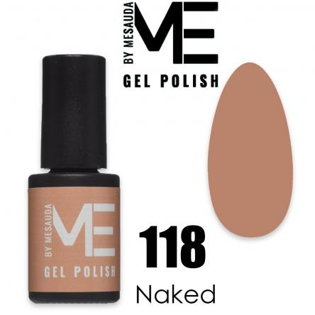 Mesauda me 5 ml gel polish 118 naked