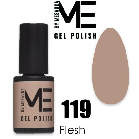 Mesauda me 5 ml gel polish 119 flesh