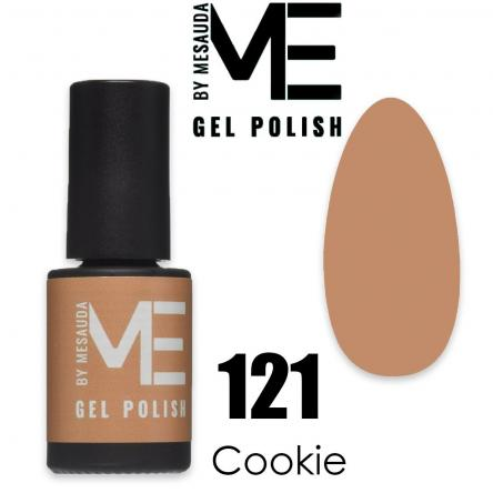 Mesauda me 5 ml gel polish 121 cookie