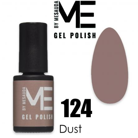 Mesauda me 5 ml gel polish 124 dust