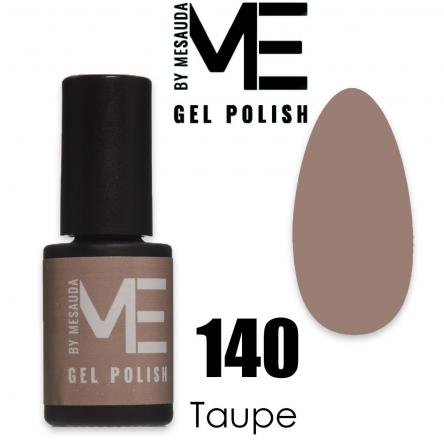 Mesauda me 5 ml gel polish 140 taupe