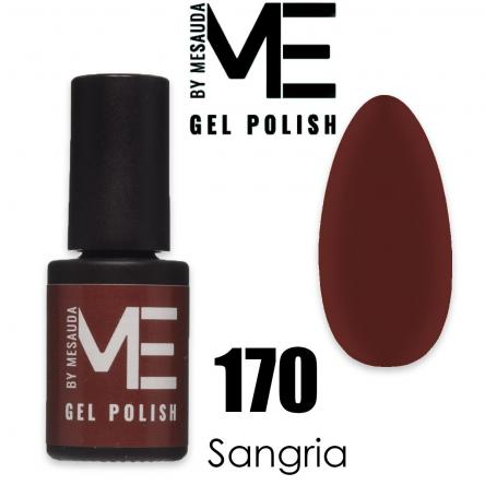 Mesauda me 5 ml gel polish 170 sangria