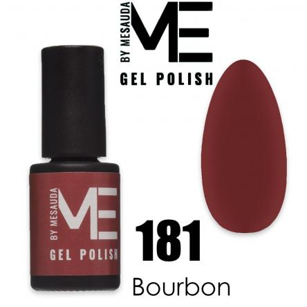 Mesauda me 5 ml gel polish 181 bourbon