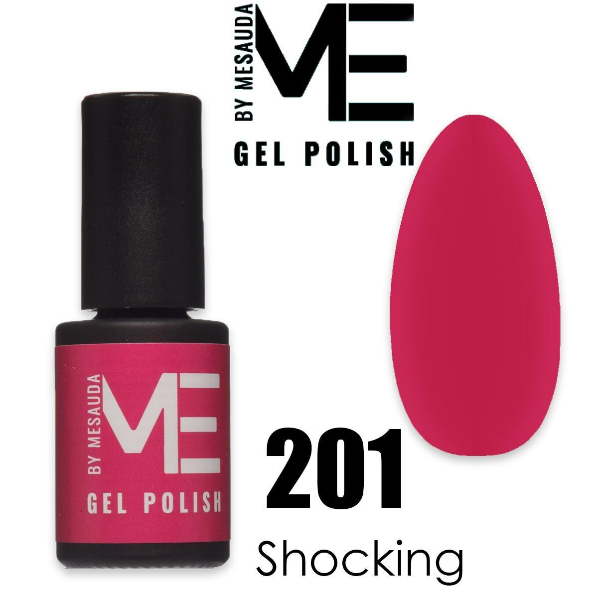 Mesauda me 5 ml gel polish 201 shocking