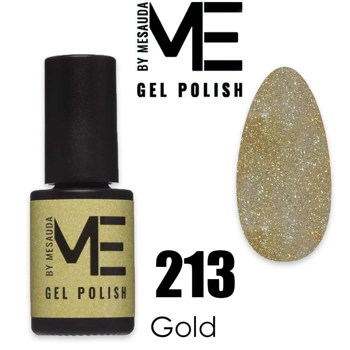Mesauda me 5 ml gel polish 213 gold