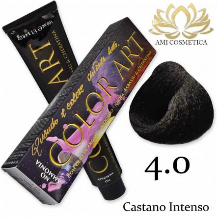 Color art senza ammoniaca 100 ml 4.0 castano intenso