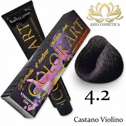 Color art senza ammoniaca 100 ml 4.2 castano violino