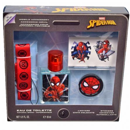 Spiderman set edt 30 ml + cintura + sticker + acc