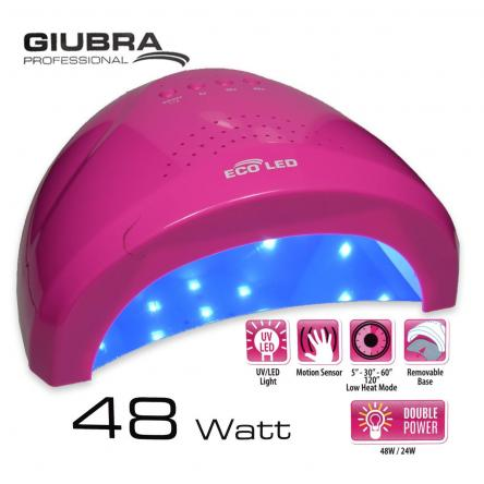 Asciugaunghie eco led fuxia 24/48 watt