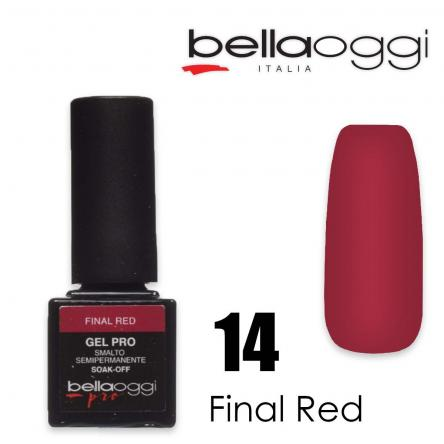 Bella oggi gel pro semipermanente 14 final red