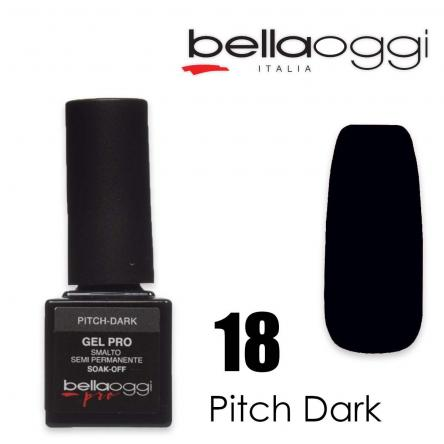 Bella oggi gel pro semipermanente 18 pitch dark